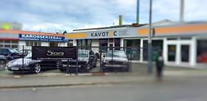 Banner bei Kavotec